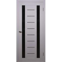 Двери Alegra Ag-4 / Черное стекло