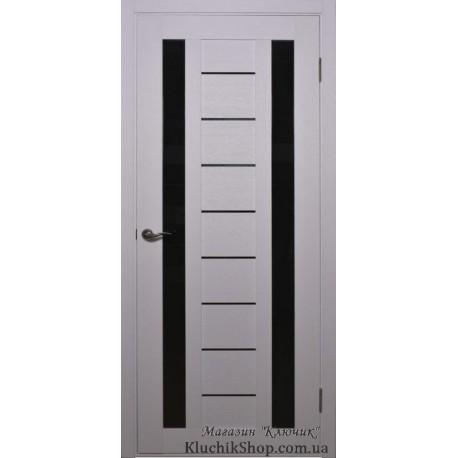 Двері Alegra Ag -4 / Чорне скло