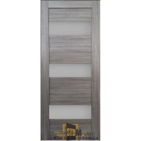 Двері Ag -10 Alegra / Скло сатин