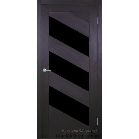 Двері Ag-1/ Чорне скло