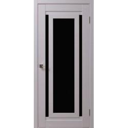 Двері Cs-2 / Чорне скло