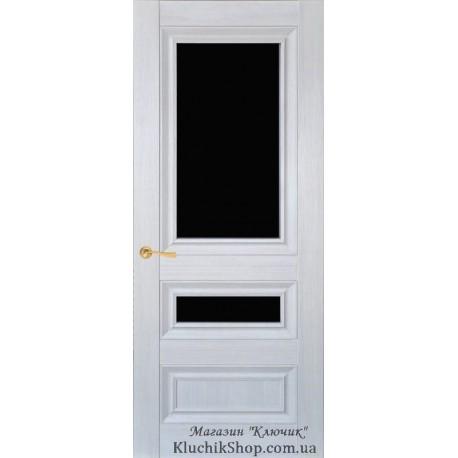 Двері CL-2 ПО-2 / Чорне скло