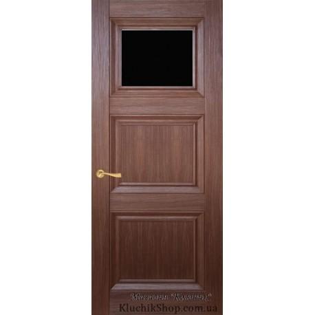 Двері CL-3 ПО-1 / Чорне скло