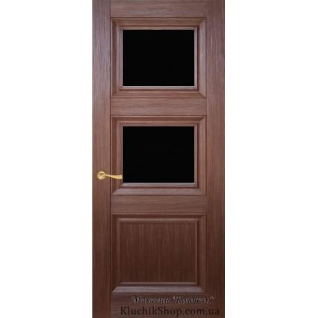 Двері CL-3 ПО-2 / Чорне скло