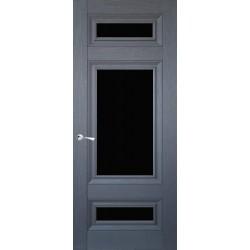 Двери CL-4 ПО / Черное стекло