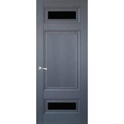 Двери CL-4 ПО-1 / Черное стекло