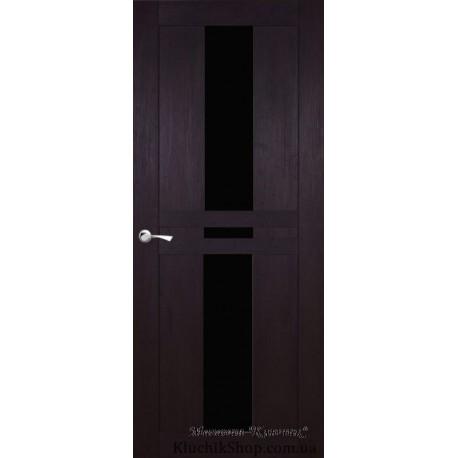 Двері Im-5 / Чорне скло