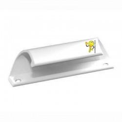 Ручка курця (балконна) біла