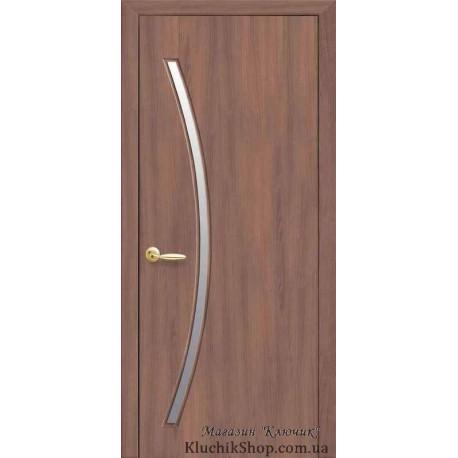 Двері Діва / Покриття екошпон / Декор вільха 3D